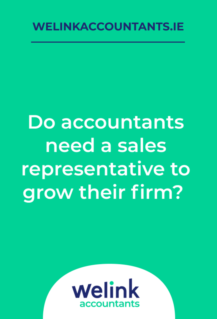 Do accountants need a sales representative to grow their firm